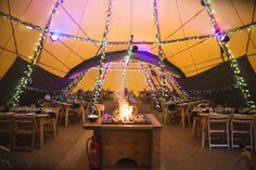 Gemma and Alan�s Winter Tipi Wedding. By S6 Photography