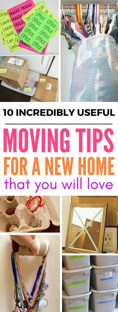 10 Incredibly Useful Tips For Moving Into A New Home - Need ideas and hacks on how to store your things while moving? This site has the BEST moving tips. house moving into a, 10 Incredibly Useful Tips For Moving Into A New Home - Craftsonfire Moving House Tips, Moving Home, Moving Day, Moving Tips, Moving Hacks, Moving Stress, Tips And Tricks, Full House, Diy Spring