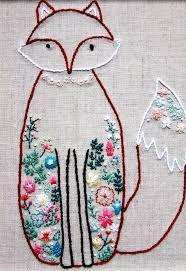Resultado de imagen de embroidery pinterest