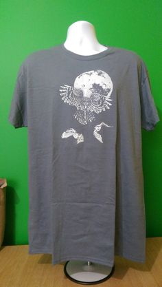 FREE SHIPPING Owls Men's XL T-Shirt 100% cotton Fruit of the Loom Graphic Tee Short Sleeve #FruitoftheLoom #GraphicTee