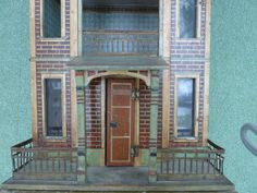Small Blue Roof Gottschalk dolls house, C1900. | eBay