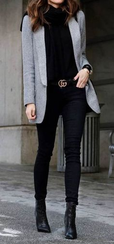 cute office style outfit