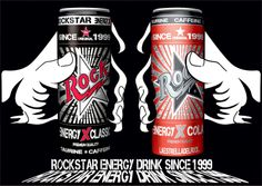 Rock Star Energy Drink since1999 : ROCKSTARENERGYDRINKS SINCE1999 HAND CAN