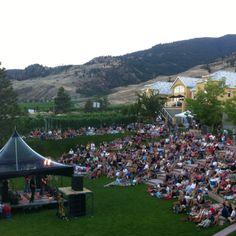 Canadian Concert Series at Tinhorn Creek, Oliver, BC: Wine Capital of Canada