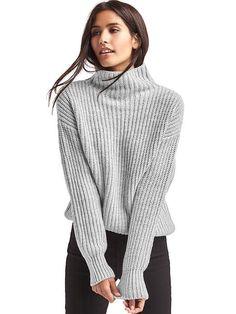 Gap Funnel Neck Shaker Sweater