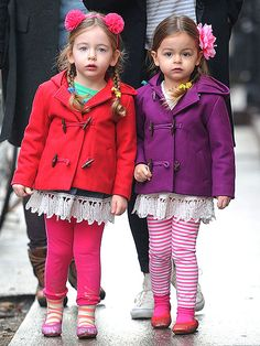 Sarah Jessica Parker and Matthew Brodericks Cute Twins!