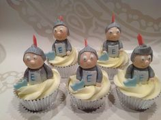 Soldados Cupcakes