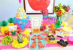 flamingo party ideas + inspo