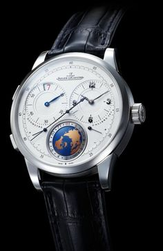 Jaeger-LeCoultre Duomètre Unique Travel Time.  I find this watch absolutely stunning, even with the slightly gaudy globe.