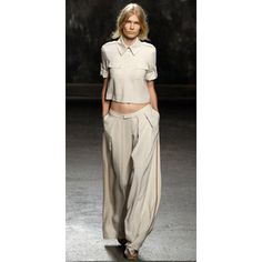Doo Ri Spring 2011: wide leg pants inspired by oxford bag pants of the 1920s and 30s