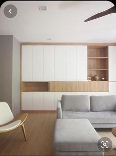 Apartment Interior, Living Room Interior, Home Interior Design, Living Room Decor, Exterior Design, Minimalist Interior, Minimalist Home, Minimalist Bedroom, Muji Home