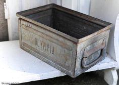 Galvanized box