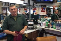 Ron Ciezki has owned and operated Ron's Barber Shop in Norwood Park for 30 years.
