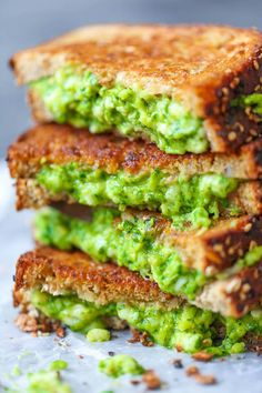This avocado grilled cheese recipe is just downright amazing!