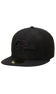 NFL Men s Baltimore Ravens New Era Black Tonal 59FIFTY Fitted Hat  EuroCup   travel 899aaecf400