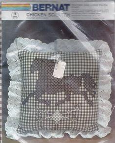 Horse Weather Vane Chicken Scratch Embroidery Kit by DebsCraftDen