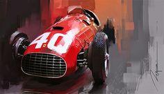 Ferrari  F Driven By Double World Champion Alberto Ascari In The  F Season