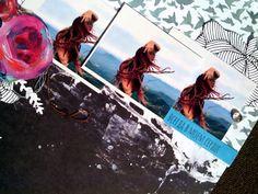 ...по эту сторону ветра : Ветер в волосах... новая страничка 30х30