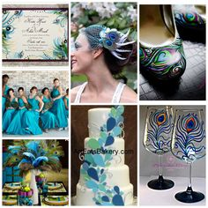 Peacock Wedding Picture Gallery