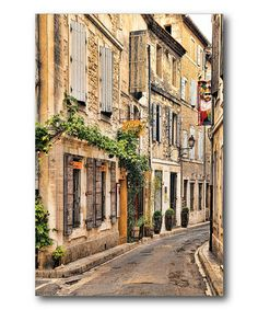 Take a look at this St. Remy Bistro Canvas Wall Art by COURTSIDE MARKET on #zulily today!