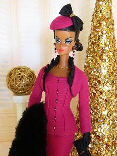 ~Aubrey~OOAK Holiday Silkstone Barbie Fashion by Joby Originals