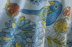 The Scented Garden by CJL Designs by Spoonflower Fabrics, via Flickr                                                                                                                                                           The Scented Garden by CJL D..