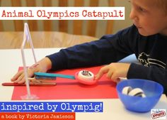 Competing in the Olympig! with Toddler Approved - Make and Takes
