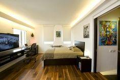 Dormitorios modernos para solteros