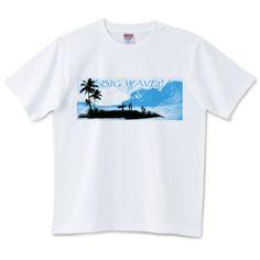 BIG WAVE (simple)   デザインTシャツ通販 T-SHIRTS TRINITY(Tシャツトリニティ)