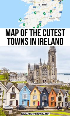 10 Prettiest Small Towns In Ireland + Map To Find Them – Best Europe Destinations Europe Destinations, Europe Travel Tips, Asia Travel, Places To Travel, Places To Go, Budget Travel, Travel Ideas, Ireland Travel Guide, Ireland Map