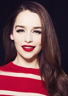 Emilia Clarke. Khaleesi is perfect.