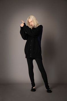 2021-22 A/W 017, Finest Cashmere Combination Knit Sweater FRC-K01-900, Finest Cashmere Combination Knit Cardigan FRC-K02-900, Washable Wool Rib Knit Slit Leggings FRC-P11-903 Knit Cardigan, Rib Knit, Cashmere, Goth, Leggings, Knitting, Sweaters, Collection, Style