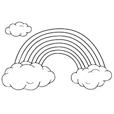 Rainbow Coloring Pages Free Printables Momjunction Rainbow Pictures Coloring Pages Free Printable Coloring Sheets