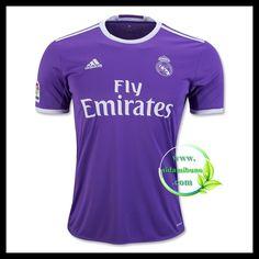 Fotballdrakter FC Real Madrid SERGIO RAMOS #4 Bortedraktsett 2016-2017