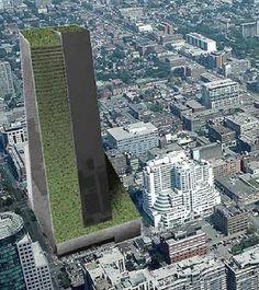 SkyFarm, Toronto, Canada-vertical garden