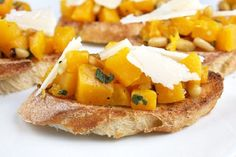 This Butternut Squash Bruschetta is a must-make for fall.