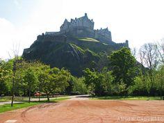 La-New-Town-de-Edimburgo-el-Castillo