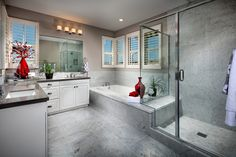 Casavia Plan 1 - Master Bathroom | Pardee Homes