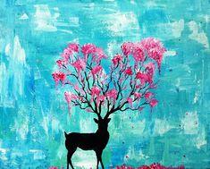 Paint Nite. Spring Spirit