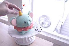 Baby Dumbo, Cute Baking, Kawaii Dessert, Egg Cake, Cute Desserts, Chiffon Cake, Aesthetic Food, Piece Of Cakes, Cute Cakes