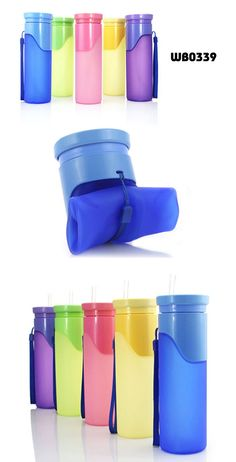 Food Grade 500ml Silicone Collapsible Water Bottle| Buyerparty Inc.
