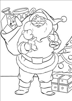 christmas stocking coloring pageschristmas is a season of green red and gold