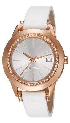 Compare ESPRIT watch to find best price. White Quartz, Stainless Steel Watch, Quartz Watch, Michael Kors Watch, Gold Watch, Watches For Men, Men's Watches, Bracelet Watch, Rose Gold