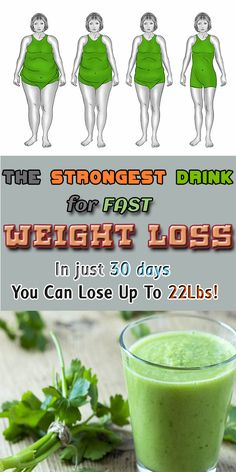 Lose Up To 22Lbs in 30 days with this incredible drink for fast weight loss