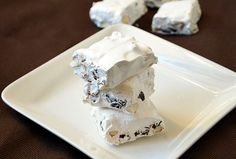 How to make soft and chewy nougat better then any candy store.This recipe shows you how you can do easily at home and fill your favorite goodies. Passover Desserts, Passover Recipes, Jewish Recipes, Italian Recipes, Candy Recipes, Dessert Recipes, Dessert Sauces, Kosher Recipes, Gourmet