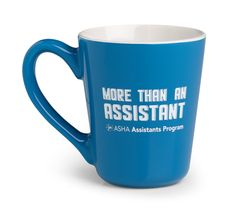 Show your #ASHAAssistants pride and grab a mug from the ASHA Store!