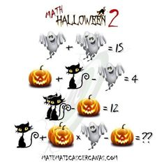 View more puzzles on fundoes to make ur brain sharp Math Puzzles Brain Teasers, Maths Puzzles, Halloween Math, Halloween Juegos, Math Genius, Second Grade Math, Picture Puzzles, Riddles, Bowser