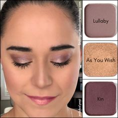Maskcara eyeshadows. Kin. Lullaby. As You Wish. #neutraleyeshadow #eyeshadow #eyeshadowpalette #browneyemakeup #maskcarabeauty #maskcaraartist6376 #mauveeyeshadow #purpleeyeshadow #shimmer #shimmereyeshdow #matteeyeshadow #beauty #makeuptutorial #eyeshadowtutorial #easyeyemakeup