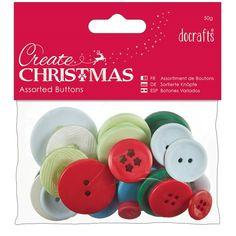 Knoflíky (50g) - Tradiční Vánoce Create Button, Christmas Crafts, Xmas, Parchment Craft, Christmas Traditions, Cooking Timer, Scrapbooks, Jewelry Crafts, Decoupage