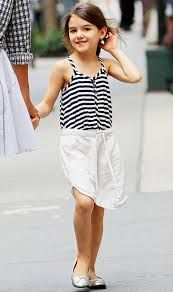 Image result for suri cruise in black and white